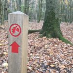 Waymarking at Ambarrow Court & Hill