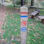 Clear waymarking at Englemere