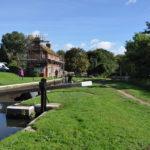 Stoke Lock near Riverside Nature Reserve