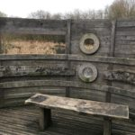 Observation hide at Riverside Nature Reserve