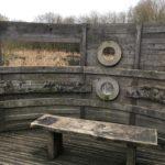 Observation hide at Riverside Nature Reserve
