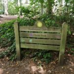 Waymarker at Wellesley Woodlands