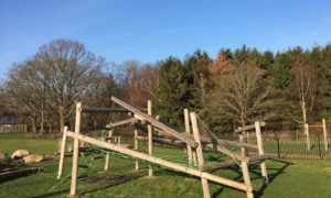 Play equipment at Franklands Park by Warden Nick