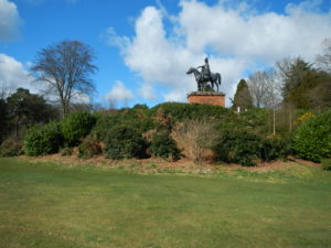 The statue of Sir Arthur Wellesley, The 1st Duke of Wellington at Wellesley Woodlands