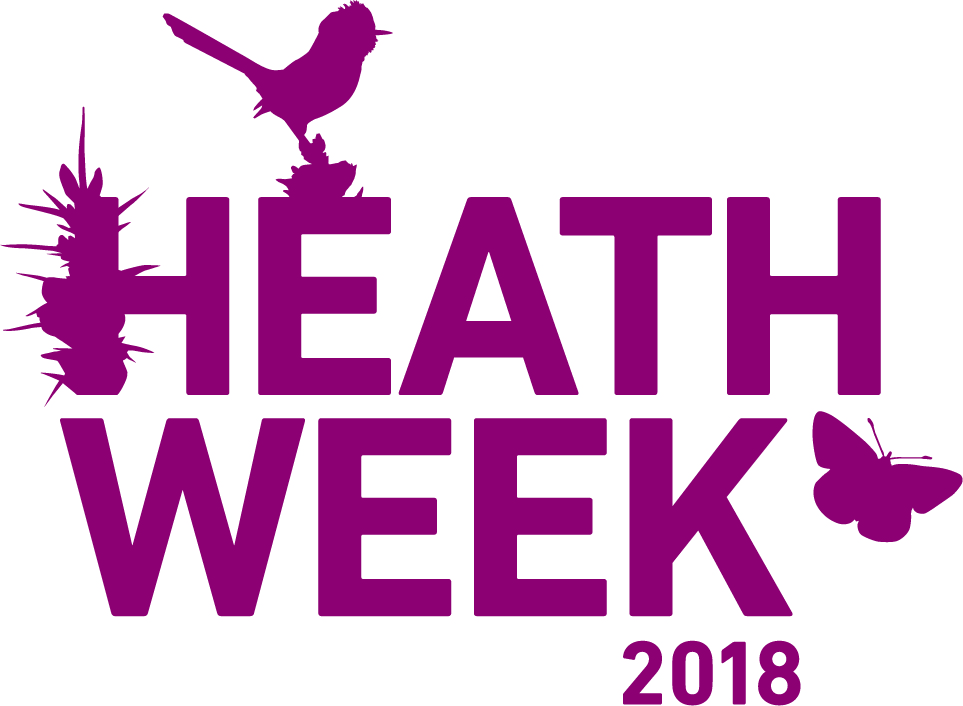 Heath Week runs 29 July to 4 August 2018 and all the events are listed on our Heath Week 2018 page
