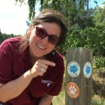 Warden Trudi on the trail of treasure