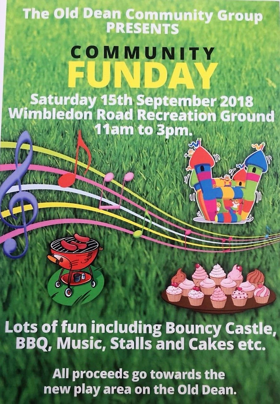Old Dean Fun Day Poster