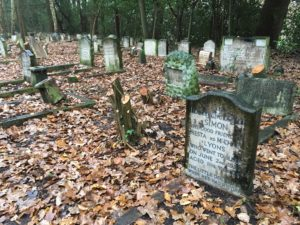 Pet cemetery at Little Heath Meadow