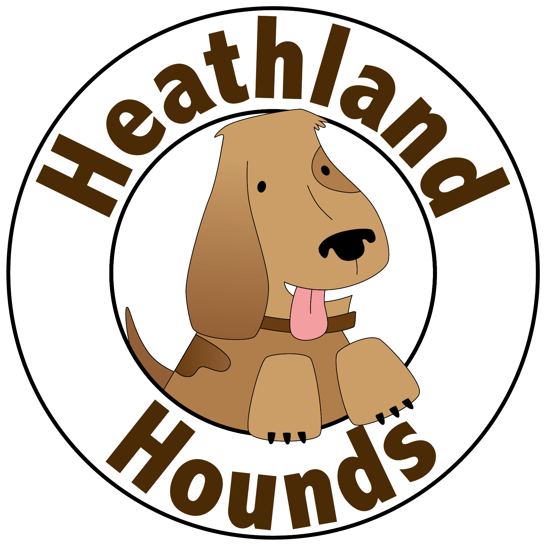 Heathland Hounds logo