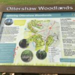 Sign at Ottershaw Memorial Fields by Warden Mike