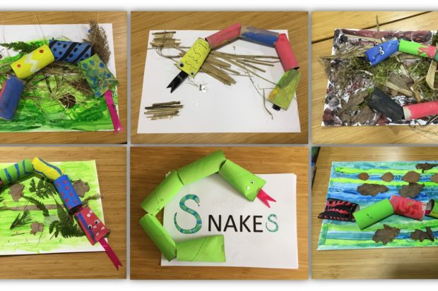 Snakes made by LinkAble