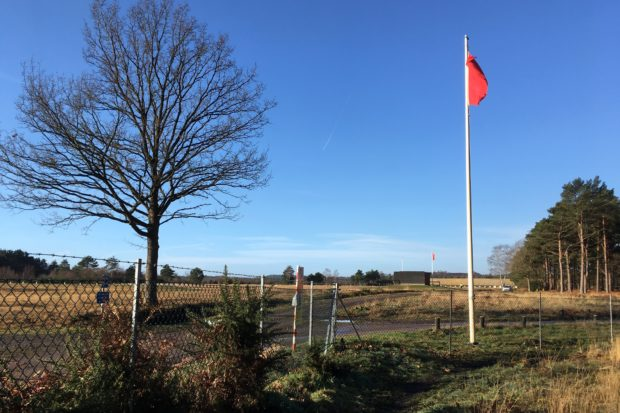 Flags Flying at Ash Ranges