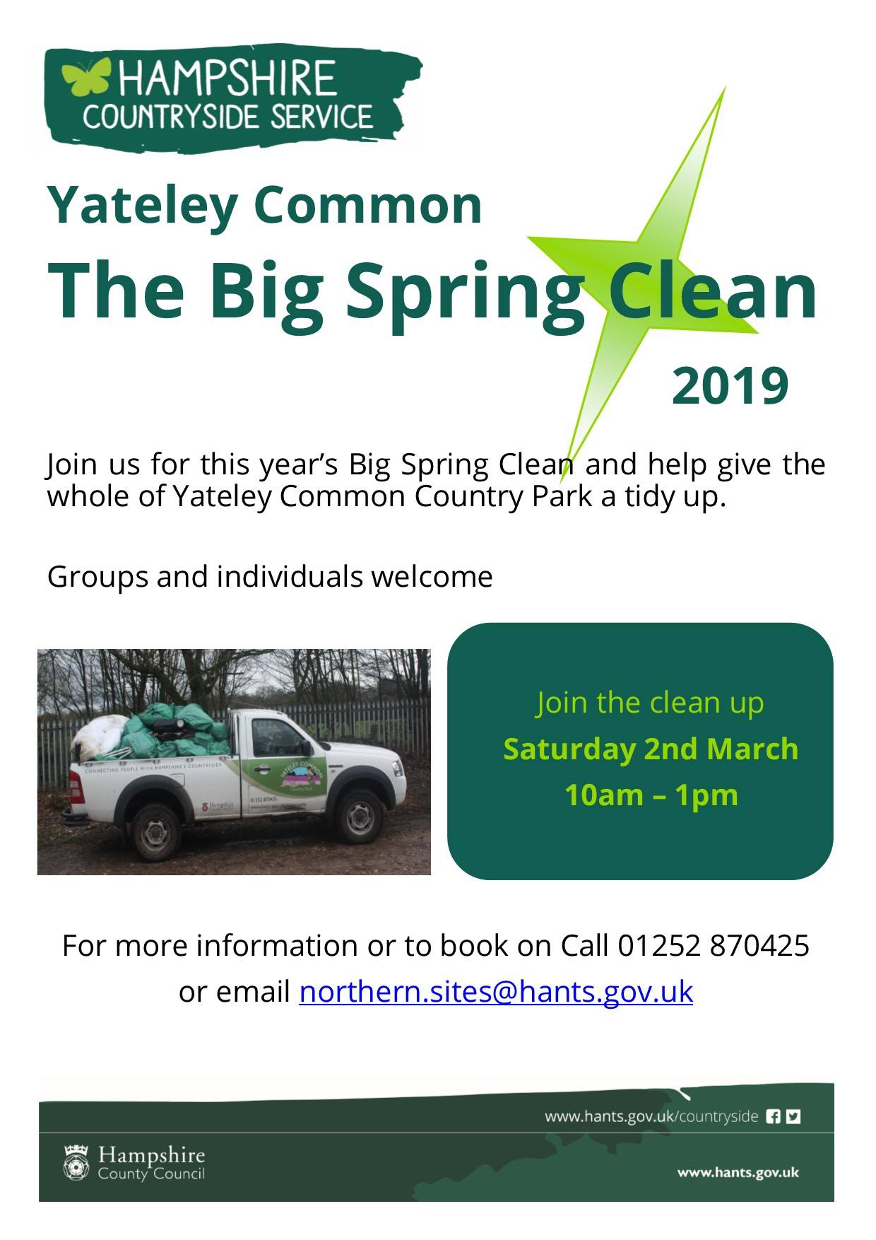 Yateley Common Big Spring Clean