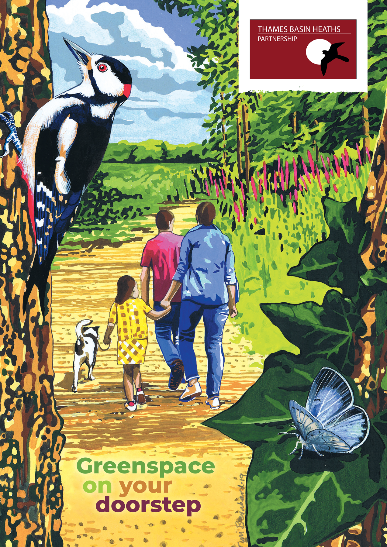 Greenspace on your doorstep leaflet cover image