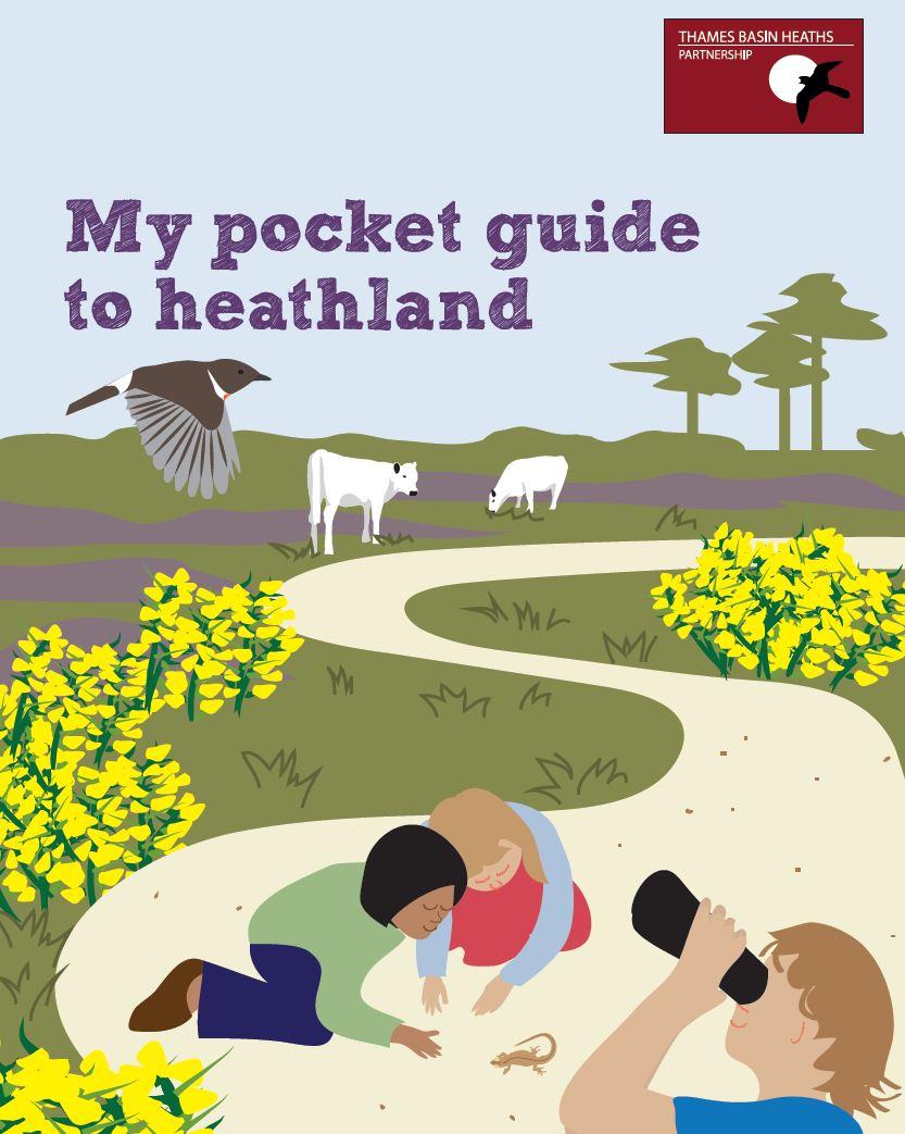 Pocket guide to heathland leaflet cover image