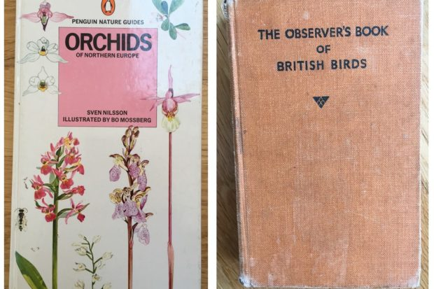 Photograph showing the covers of Warden Flo's favourite books