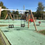 Play facility at Chertsey Meads
