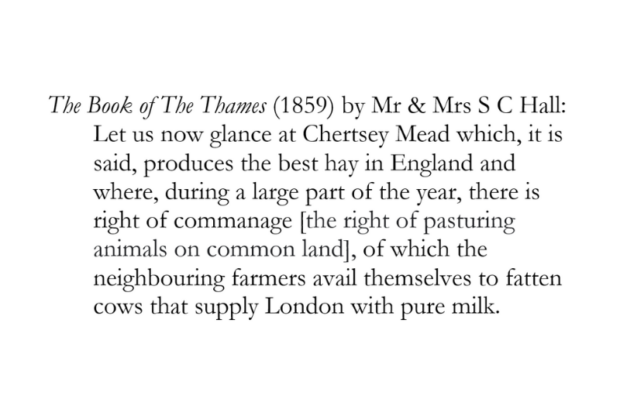 Extract from The Book of The Thames (1859)