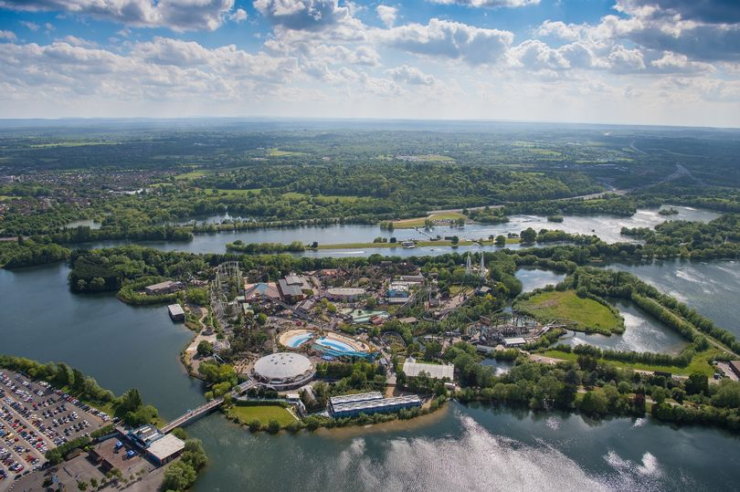 View of Thorpe Park
