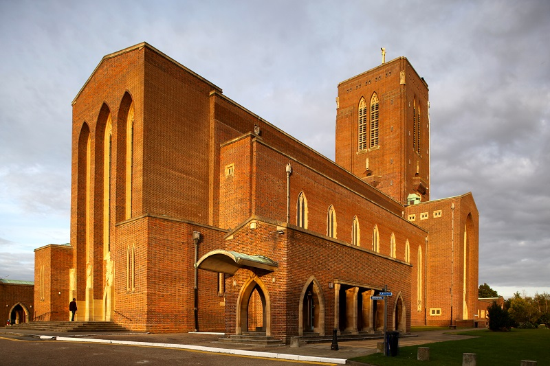 Photograph of Guildford Cathedral