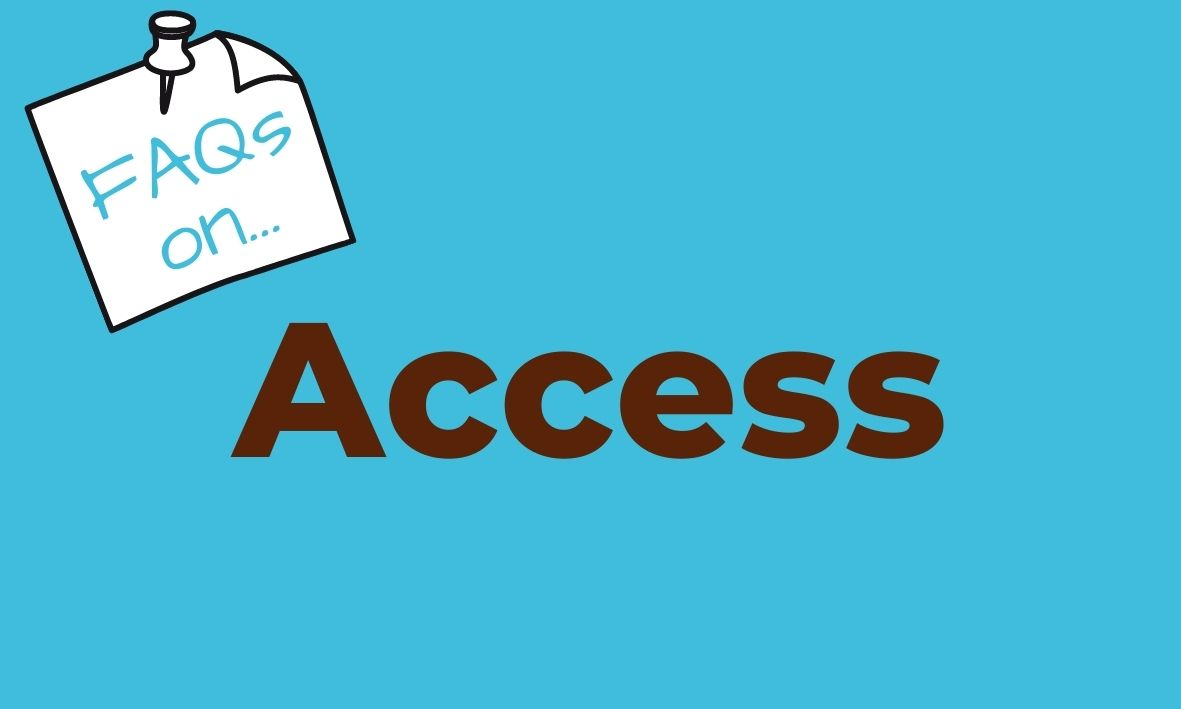 Click here for answers to questions about dogs and access