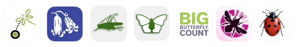 A selection of citizen science apps