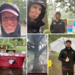 Wardens in the rain!
